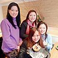 2012年2月18日與高中同學在原燒聚餐慶生