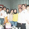 2007年12月5日在西門町錢櫃幫戴麗芳慶生