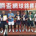 2014伯爵盃網球賽 冠軍!!