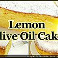 檸檬橄欖油蛋糕