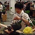 101/07/22嘉義文化創意園區辦的游於茶陶木茶席