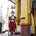 緬甸-仰光大金塔