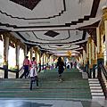 緬甸-仰光-白玉佛寺