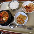 2012/8 首爾延世大學 外語學院食堂豆腐鍋