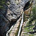 一整個都是階梯的沙維查瀑布Savica Waterfall