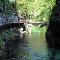 沁涼舒暢的Vintgar Gorge峽谷健行
