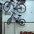 頂天立地單車掛架