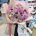 巨大花束,巨大乾燥花束推薦,喜歡生活乾燥花店巨大滿天星乾燥花束