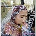 V.S Hair染紫紅色髮
