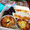 喜瑞爾-蔓越梅/寒天蒟蒻綜合果麥「我們一家人的愛心便當早餐-小蛋糕/吐司盒」2010-1221