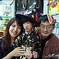 2012-1030-Yuki 4Y10M 幼稚園第一次萬聖節