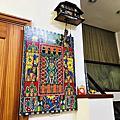 凡卡藝廊Tinga Tinga東非非洲坦尚尼亞新銳藝術家繪畫藝術收藏,以動物為主題、琺瑯漆為顏料,畫風熱情、繽紛、魔幻,適合應用在各式展示空間裝飾與建築物辦公室