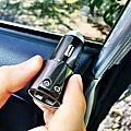 車窗擊破器推薦│安瑟數位NEXTBASE三合一車充車窗擊破器 安全帶割刀 3.4A雙USB車用充電器