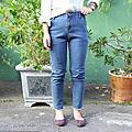鬚鬚牛仔褲