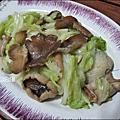 雞肉絲菇竹筍粥