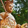 神像佛像-瑤池金母(台灣檜木描金藝術創作)