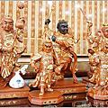 大太子/二太子/三太子(劍印將軍)-描金藝術