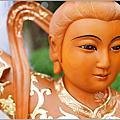 神像/神明/佛像(九天玄女藝術體-九蓮/龍椅/鳳椅)