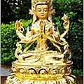 銅製神像翻新(觀音.地藏王.彌勒.通天財神)