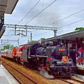 「仲夏寶島號」蒸汽火車