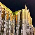 沙特爾教堂夜景