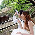 婚紗照 / 迷戀。鐵道山城-麗莎貝拉