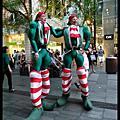 雪梨聖誕點燈活動2012