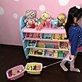 WOOHOO兒童玩具收納櫃-三層窄