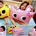 【MYHOUSE】韓國防蟎抗敏派對動物兒童睡袋