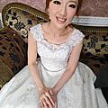 韻紅結婚新秘。高雄台南擔仔麵