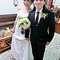 莉芬結婚新秘。台南關廟自宅