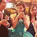 梅君新娘結婚婚宴造型