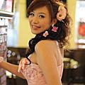 宜貞新娘文定單妝造型