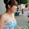 嘉琪新娘訂婚歸寧婚宴造型