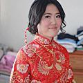 菁菁新娘結婚婚宴造型