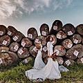 閨蜜婚紗外拍~清水伐木場