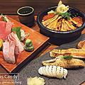 【食記】台中♥倚樂屋手作壽司丼飯➔老闆年輕幽默超好聊、食材新鮮美味超好吃!