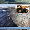 俄羅斯金剛石礦場