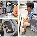 【出國旅行包款推薦】Numinous Packs 英國獅王旅行防盜背包/防盜真皮護照夾