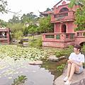 【台北免費景點】林安泰古厝+花博新生迷宮花園