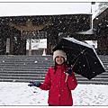 日本-北海道雪景-小樽市-扎幌市-北海道神宮-狸小路