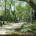 土耳其伊斯坦堡Topkapi舊皇宫公園