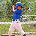 抓住棒球的一瞬間