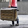【旅行】PANTHEON 24吋 硬殼可擴充旅行箱
