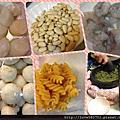 青醬干貝鮮蝦螺旋麵