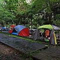 溪頭露營區圖示