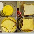 食譜*法式吐司佐蜂蜜香蕉