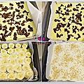 食譜*抹茶紅豆香蕉烤年糕