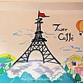Tower Caffè。鐵塔輕咖啡館
