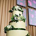 Ginjer杯子蛋糕塔&結婚蛋糕